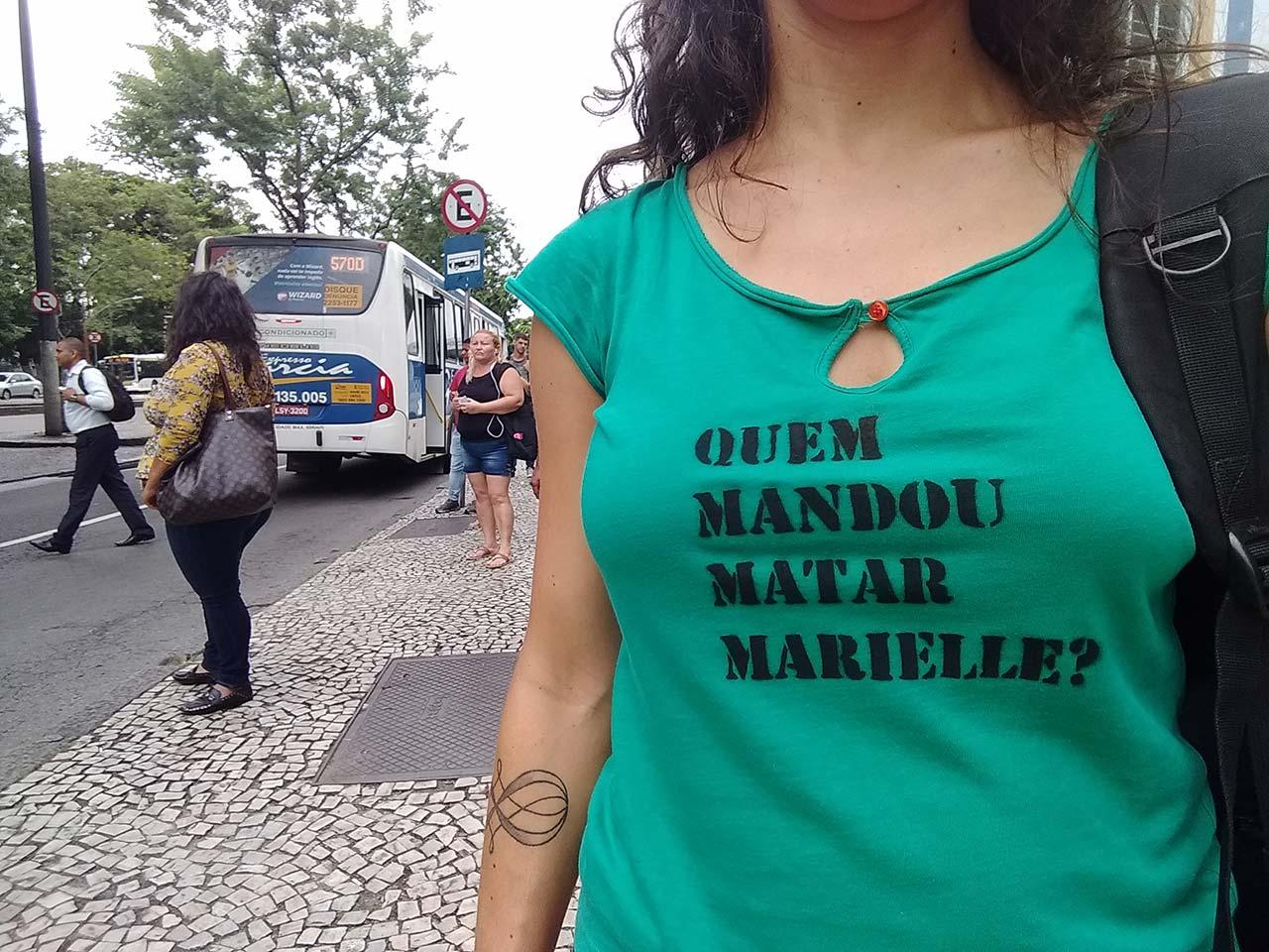 Quem Mandou Matar Marielle? Por Flávia Naves